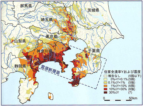 関東地震の震度分布.jpg