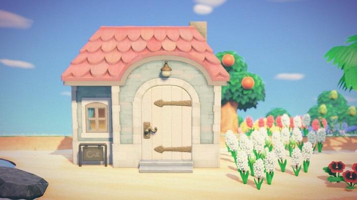 【あつまれどうぶつの森】ツンドラの家・外観