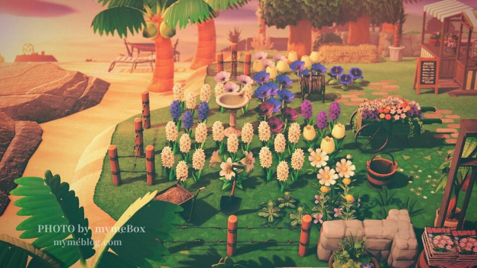 【あつ森】園芸店の島クリエイト
