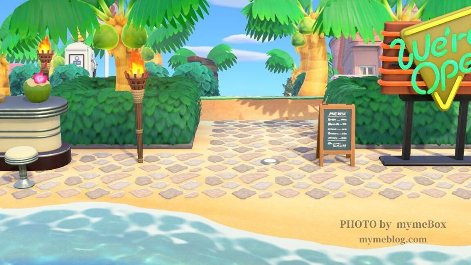 【あつ森】砂浜で使えるマイデザイン『ランダムな敷石タイル』