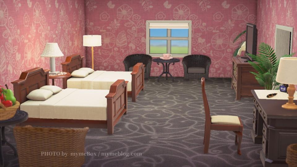 【あつ森】ロイヤルハワイアンホテル・客室
