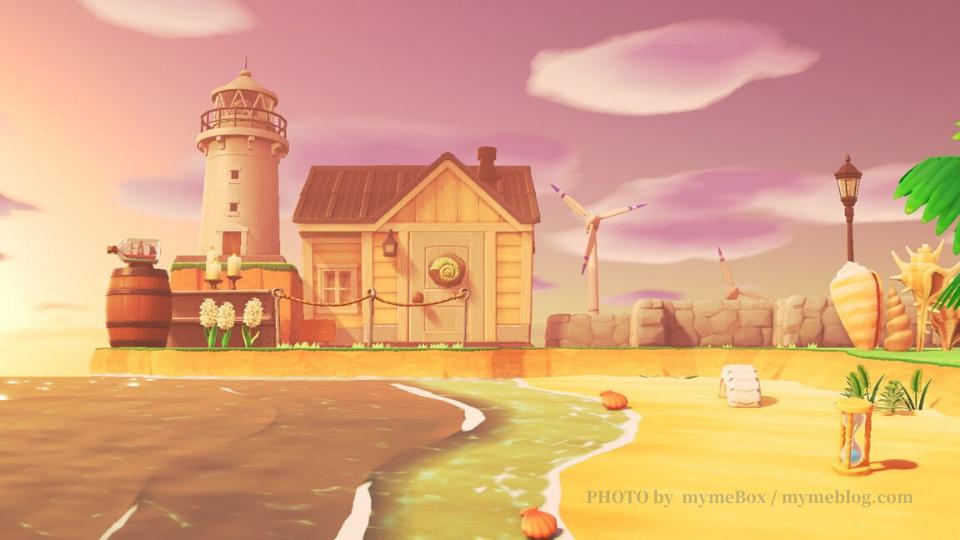 【あつ森】岬のクリエイト・灯台