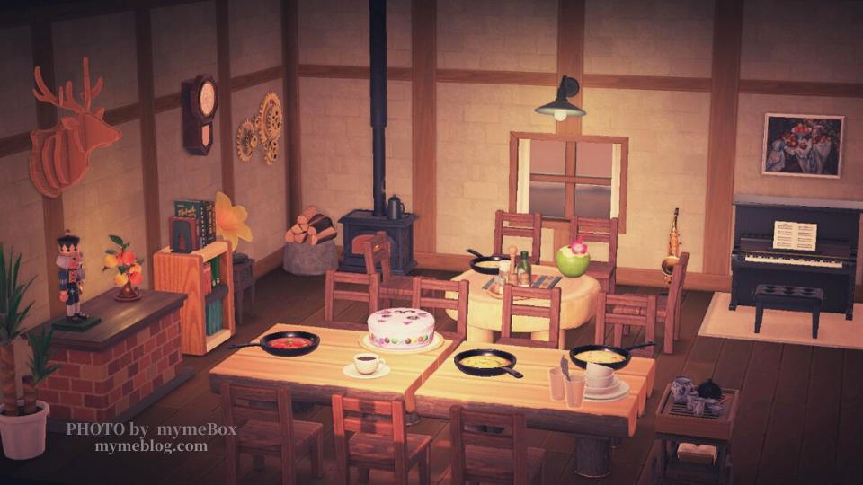 【あつ森・パニーの島で送別会】個室レストラン