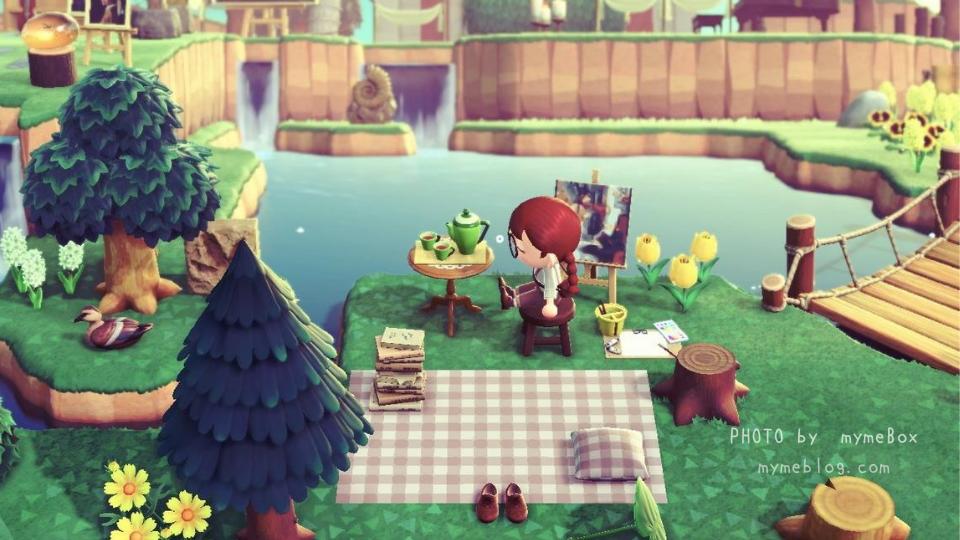 【あつ森】ピクニックスペース