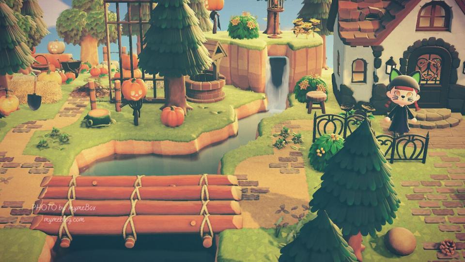 【あつ森】ハロウィンのかぼちゃ畑の作り方