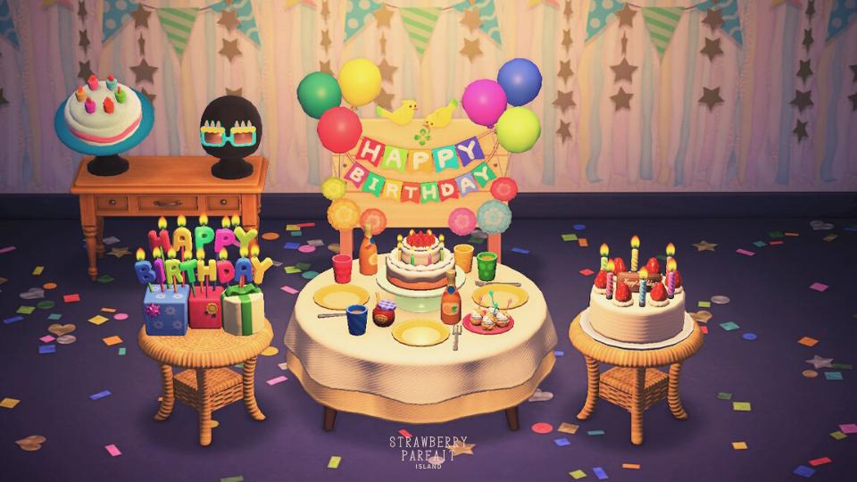 【あつ森】自分の誕生日イベント・カップケーキのお返し