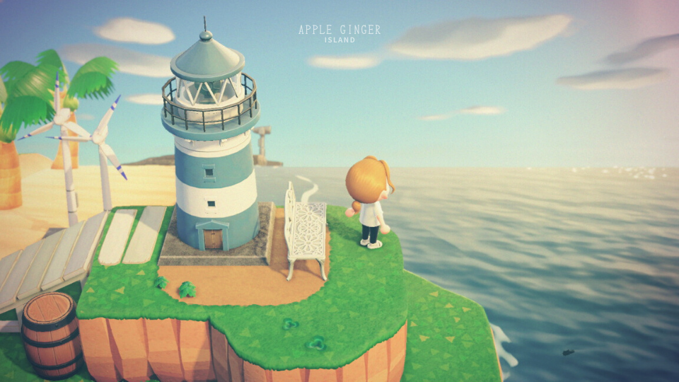 【あつ森】岬の活用・おしゃれな島クリエイト