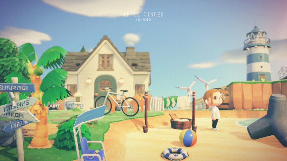 【あつ森】岬の家のおしゃれなレイアウト・活用