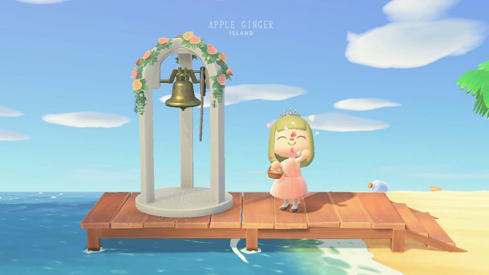 【あつ森】フラワーシャワー(ウェディング家具2021)
