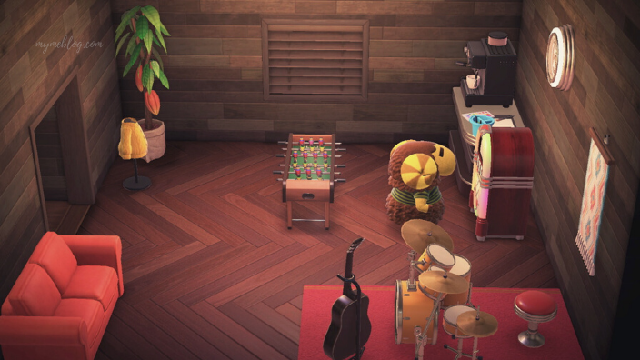 【あつ森】カルロスの家の内装