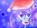 エネ クリスマス 色塗り練習用落書き