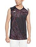 (ヨネックス)YONEX テニス・バトミントンウェア ノースリーブシャツ 10213 [メンズ] 10213 007 ブラック L