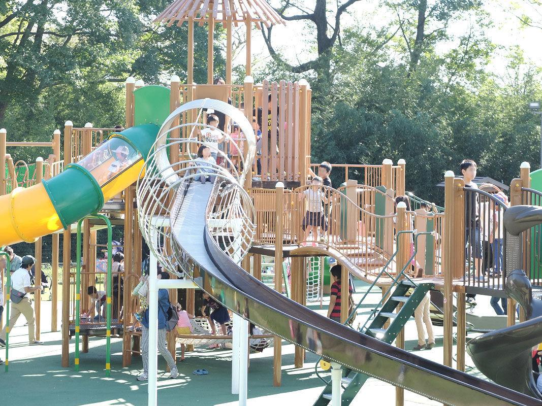 ある 公園 の 遊具