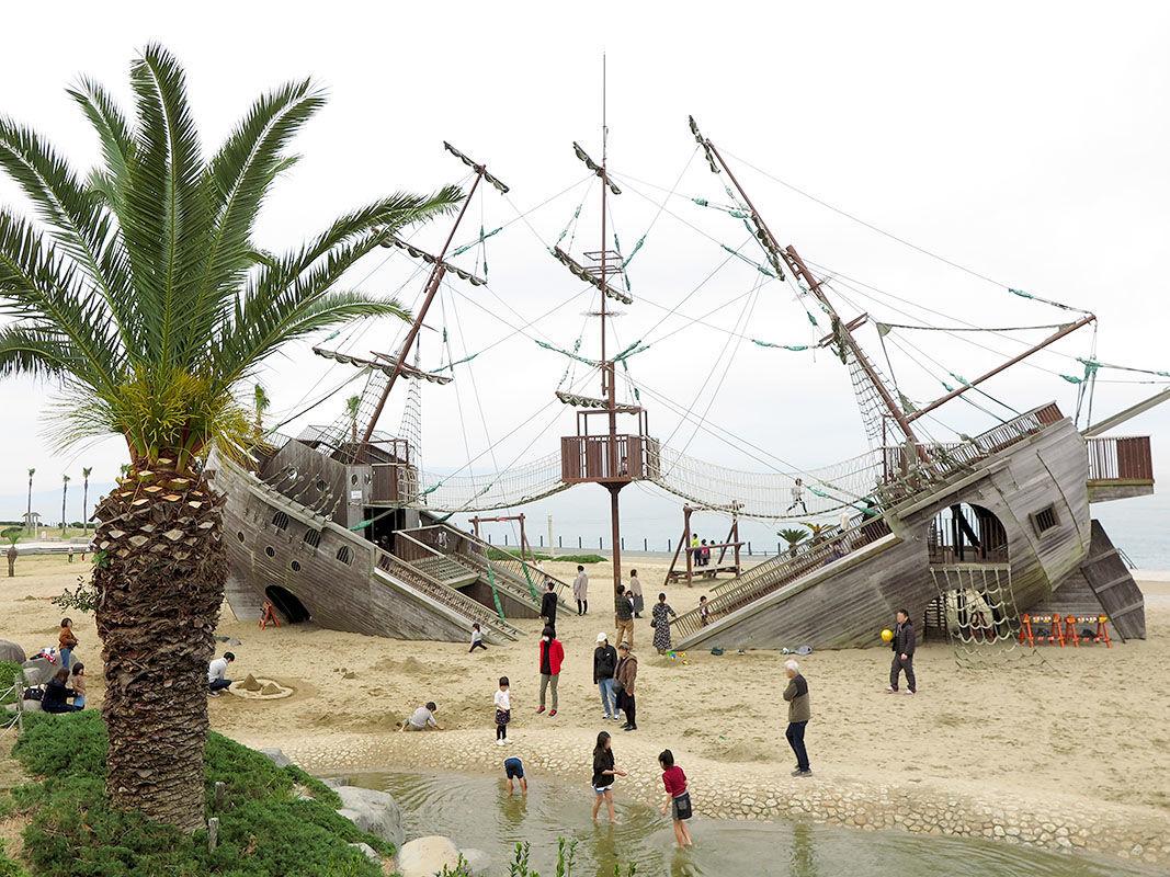 の しま 海賊 アスレチック
