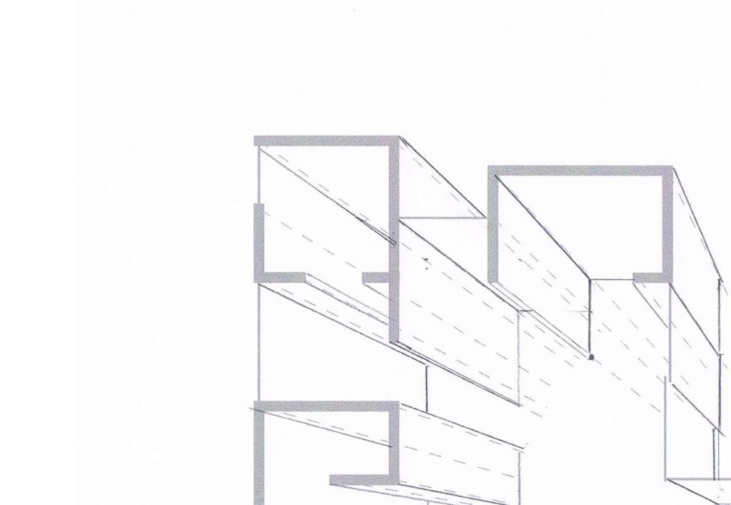 図3-2 消失点から離れた空間は歪んで見える