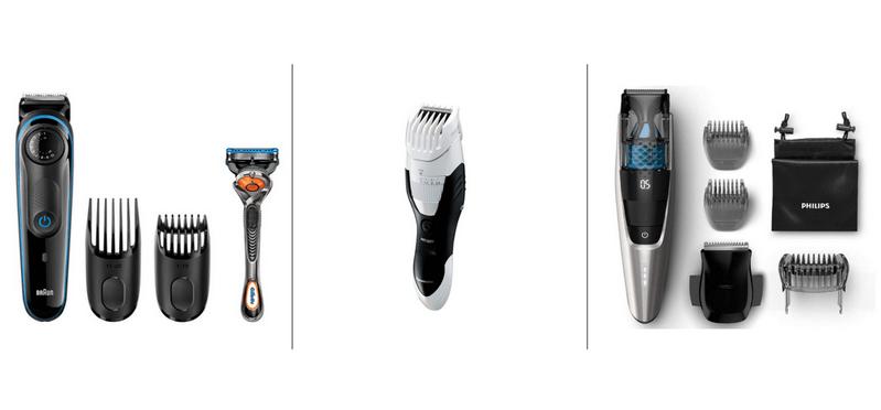 ヒゲの手入れ道具3種類