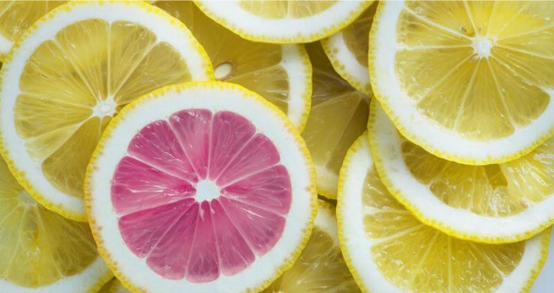 異質なレモン
