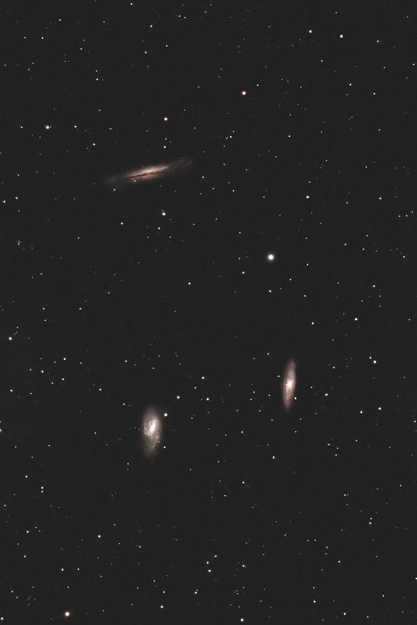 しし座のトリオ M65, M66, NGC3628