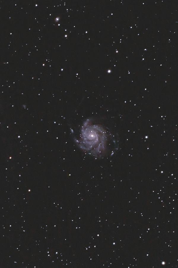 回転花火銀河 M101