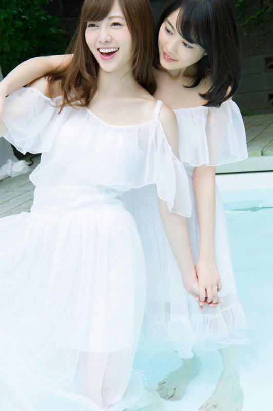 白石麻衣 下着 水着 画像:20180106220048j:plain