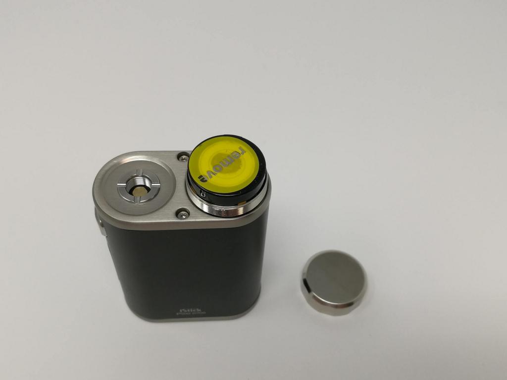 Pico 21700 バッテリーキャップを外した