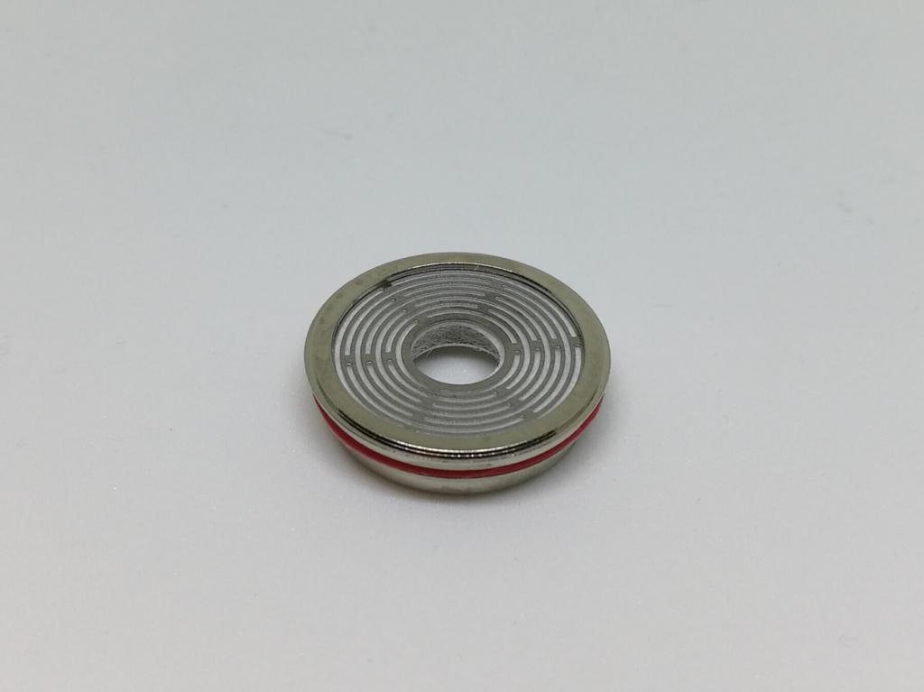 円盤形状の専用コイル