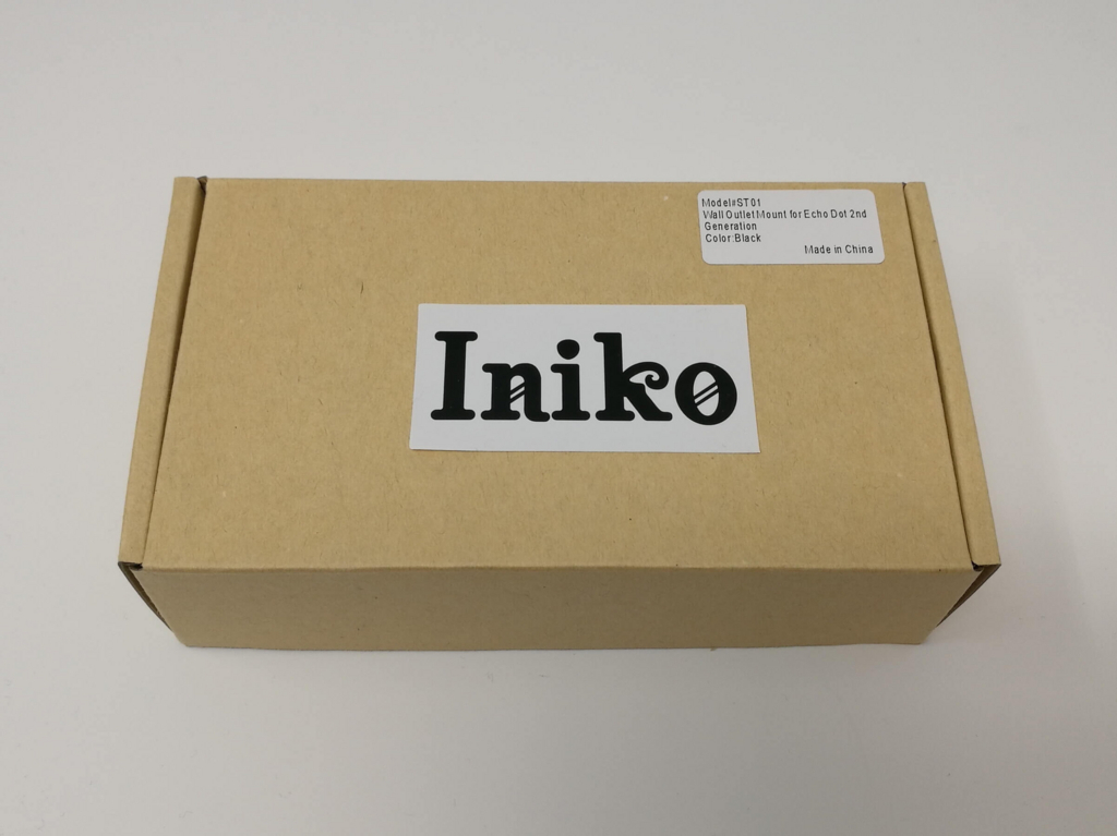 iniko Echo Dot専用壁掛け式ハンガー 外箱