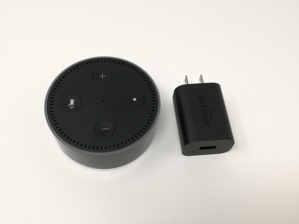 Amazon Echo Dot・専用ACアダプター