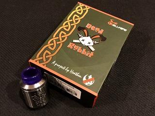 値段以上!大満足の爆煙系アトマイザー「DEAD RABBIT RDA 24mm」レビュー