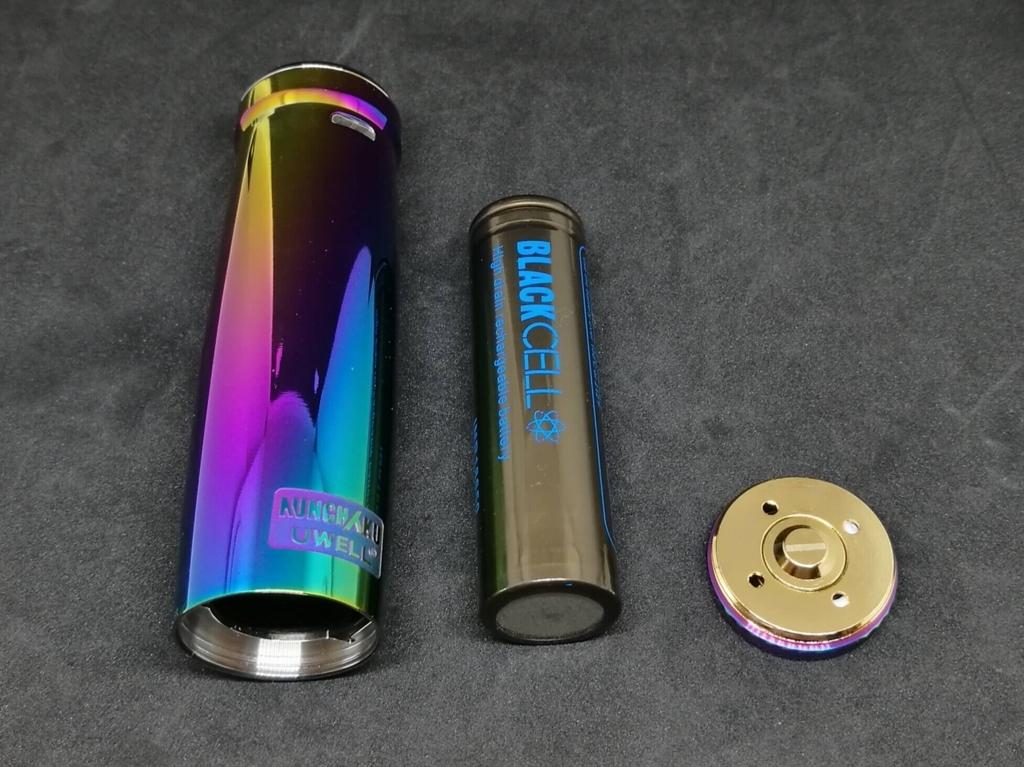 UWELL NUNCHAKU MODと18650バッテリー