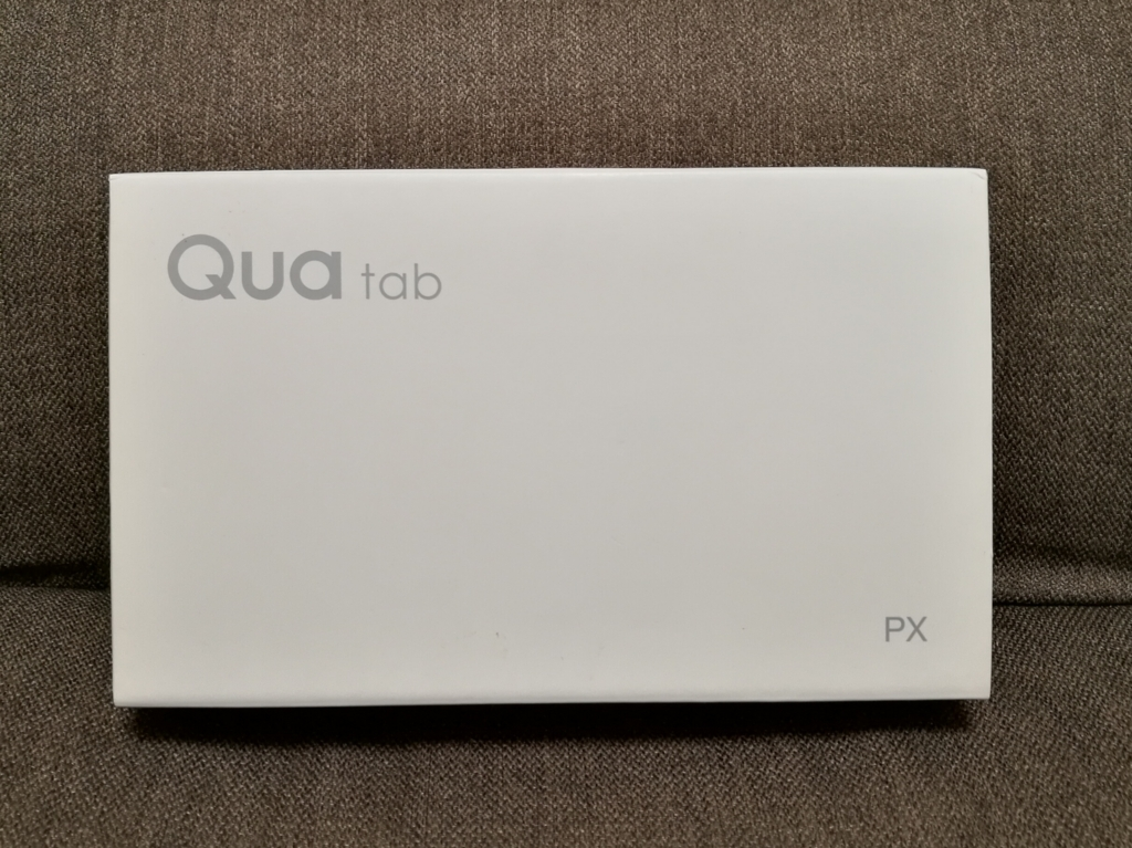 Qua tab PX 外箱