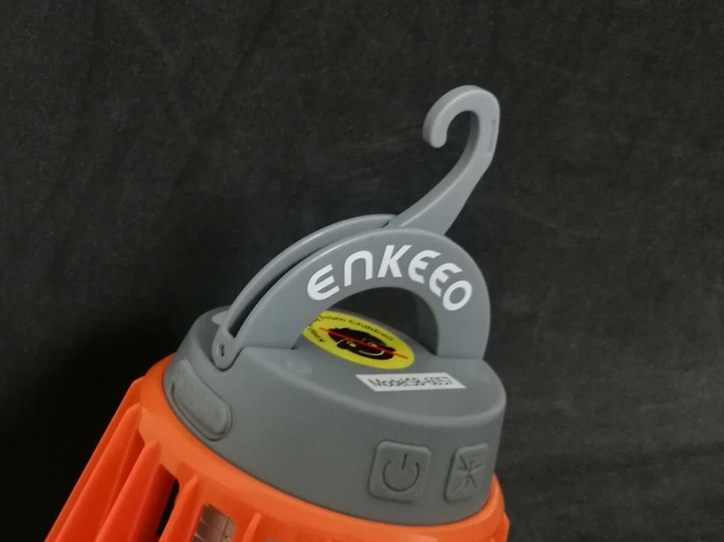 ENKEEO LEDランタン 底部 隠しフック展開