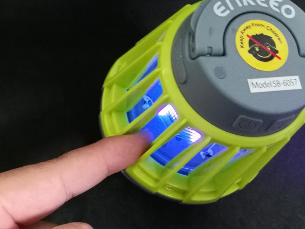 ENKEEO LEDランタン 指が入らないようにガード
