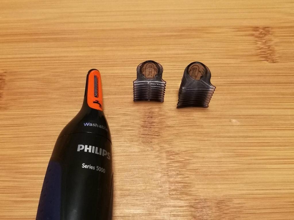 フィリップス フェイススタイリングキット NT5172/16 トリミングヘッドと眉毛コーム
