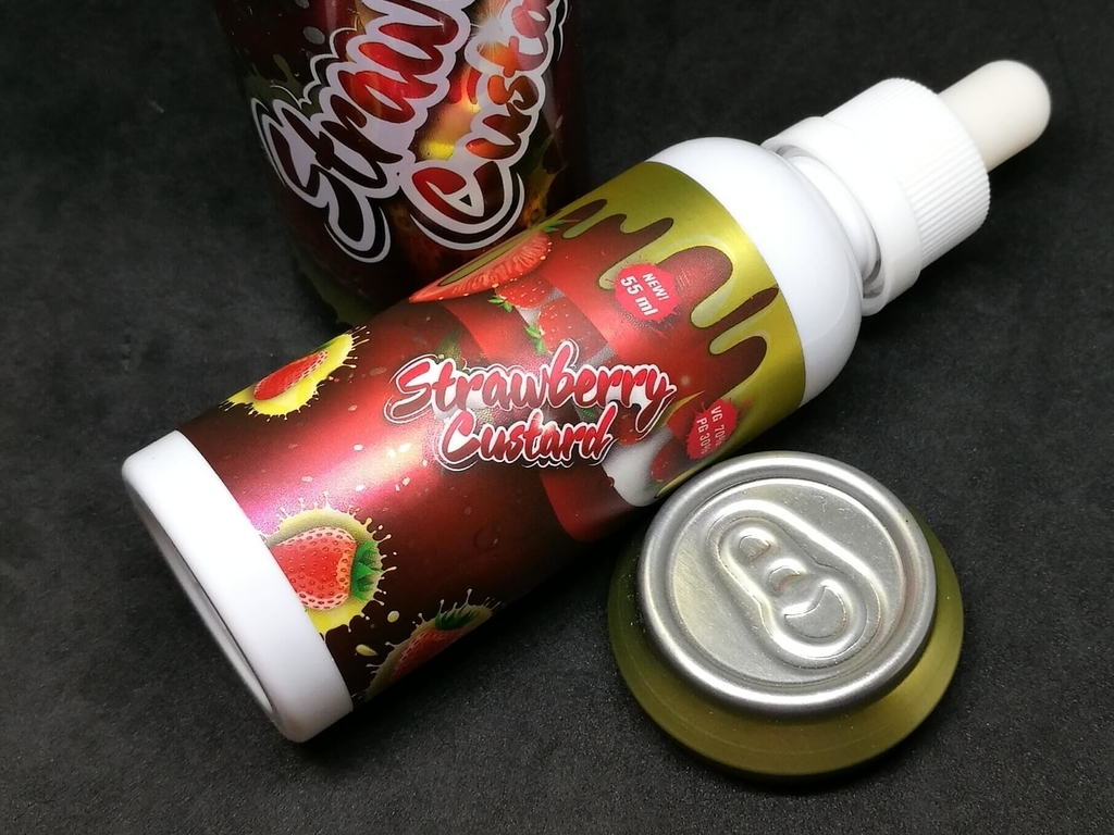 MOHAWK&CO FIZZY Strawberry Custard ボトル