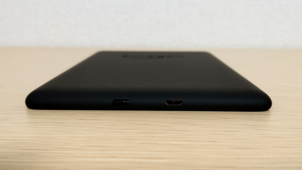 Kindle Paperwhite Newモデル Micro USB端子 電源スイッチ