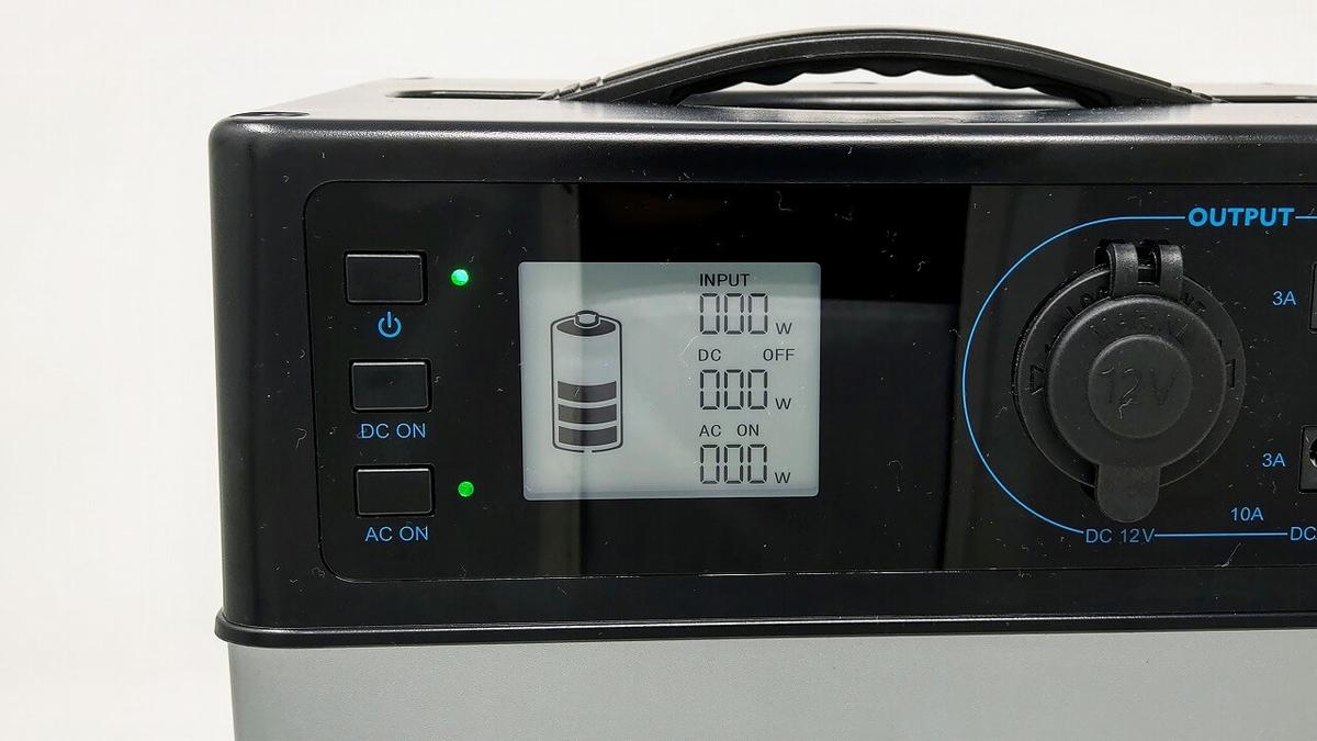 suaoki PS5B 120000mAh ポータブル電源 LCDスクリーン