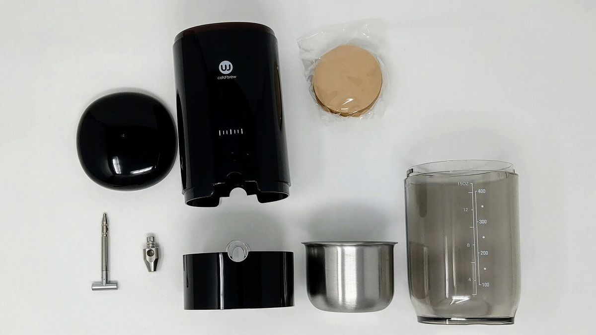 Wiswell コールドブリューコーヒーサーバー Water Dripper 本体を分解