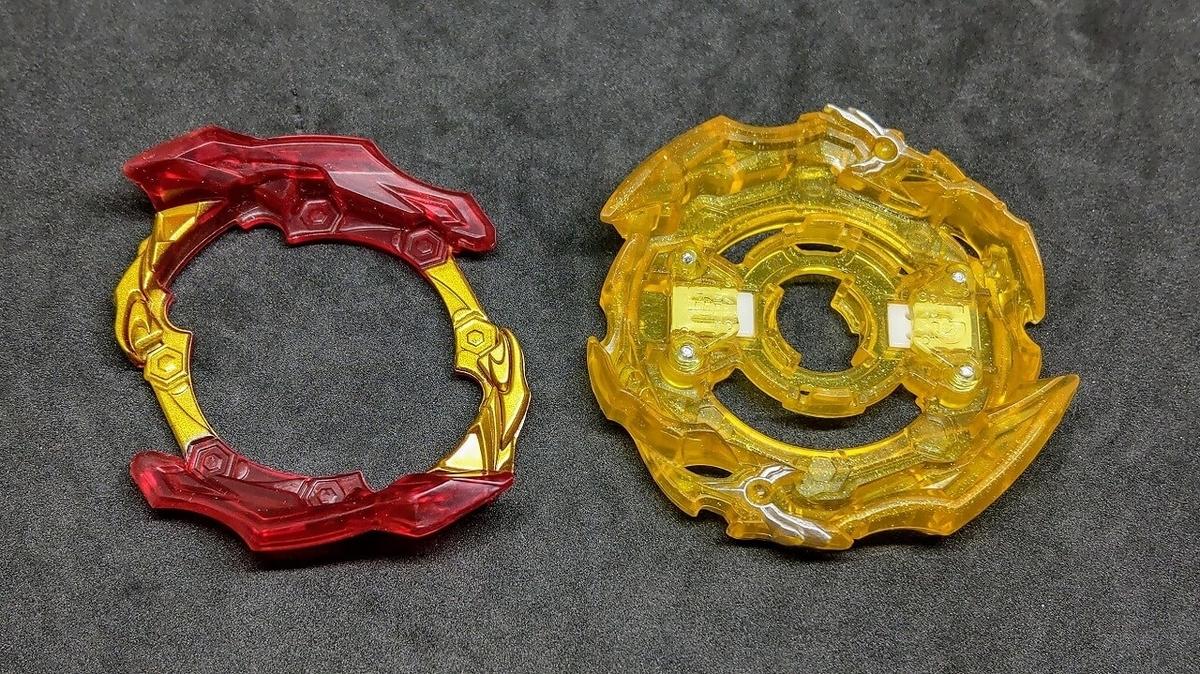 ユニオンベース 超王龍のブレードパーツを分解