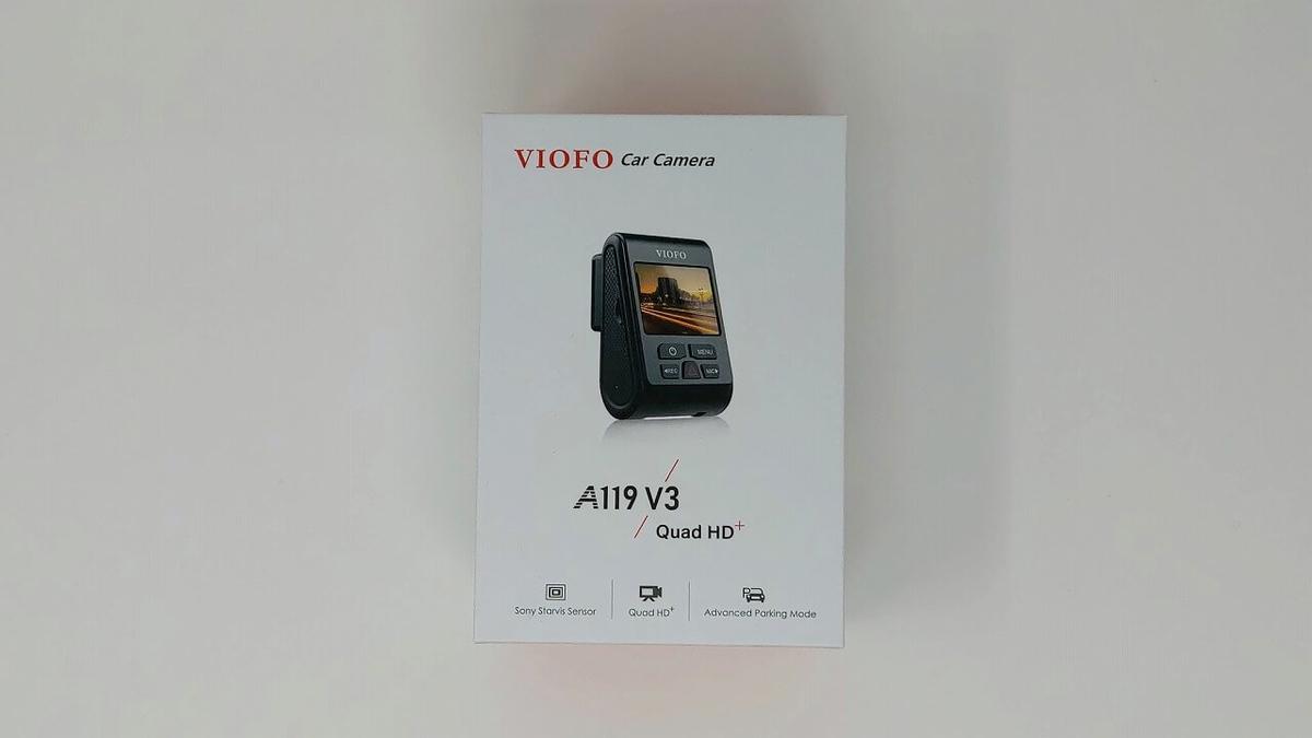 VIOFO A119 V3 パッケージ