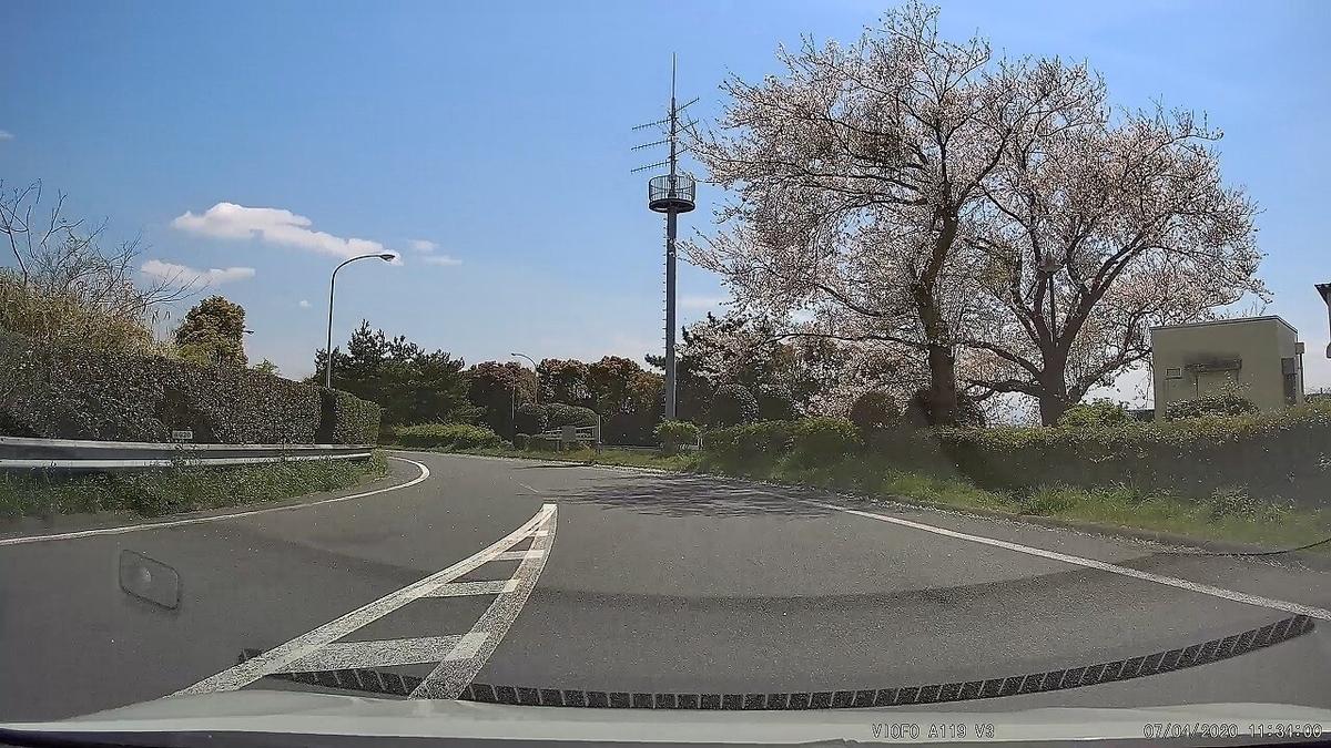 VIOFO A119 V3で桜を撮影