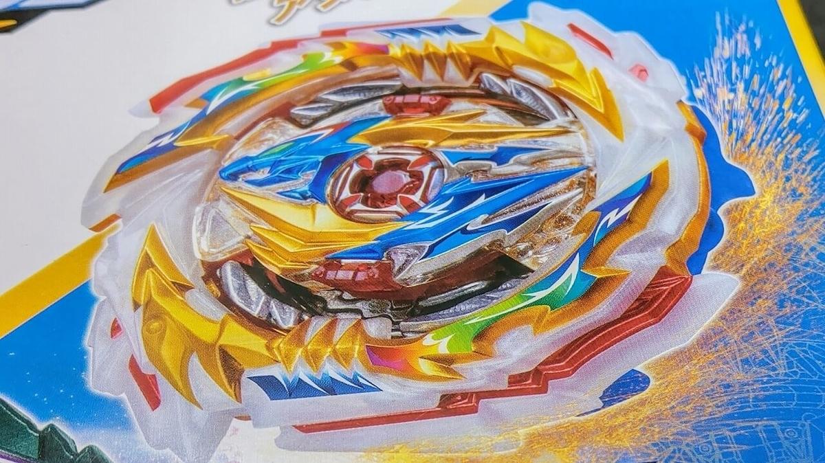 レインボーターボを想起させるテンペストの虹色の刃