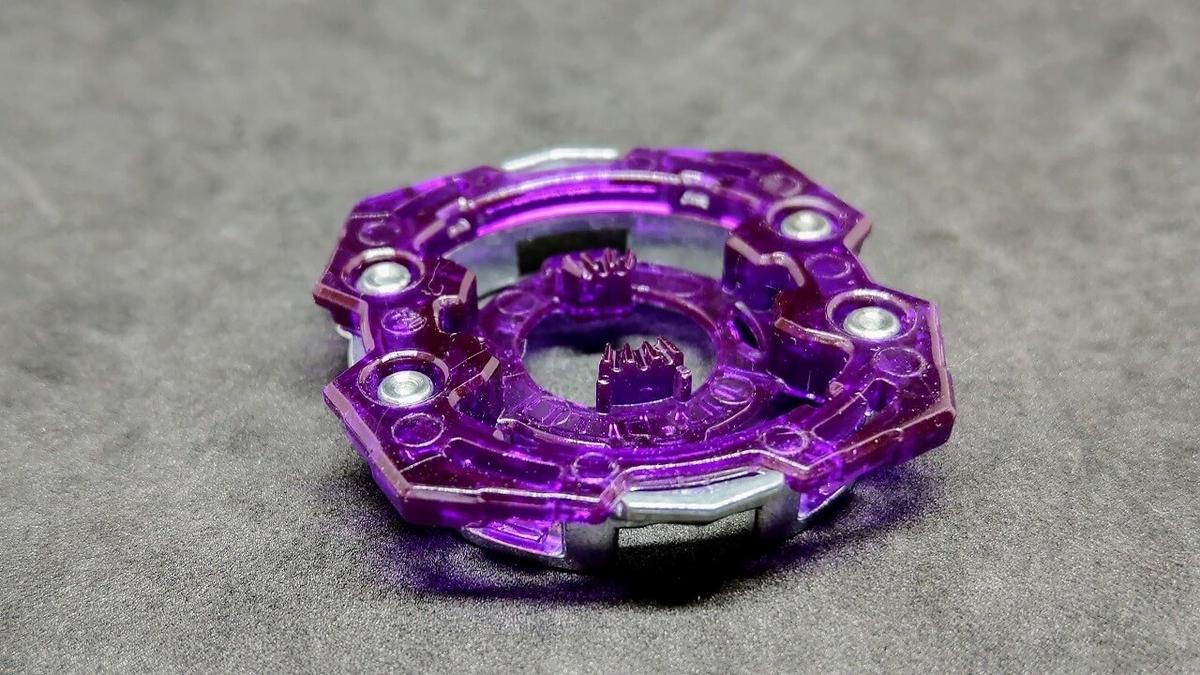 トリプルブースター 1D(ワンディー)シャーシ ロック形状
