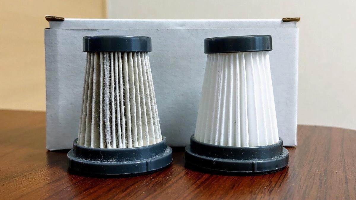 左:K13付属品・右:K12用フィルター