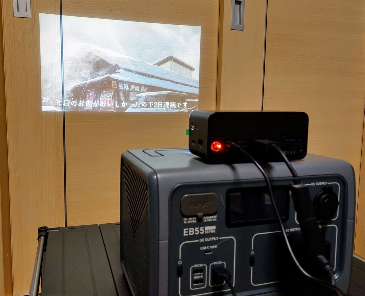 VANKYO GO300とFire TV Stickを接続