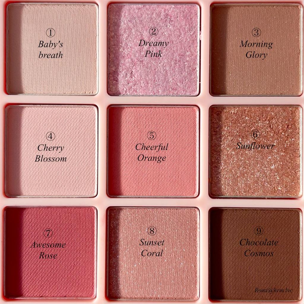 ベージュ・ピンク・レッド・グリッター系など、今っぽさが詰まった9色