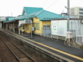 [train]五能線_鰺ヶ沢駅