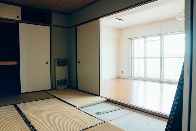 マンションのリノベーション(Before)_和室