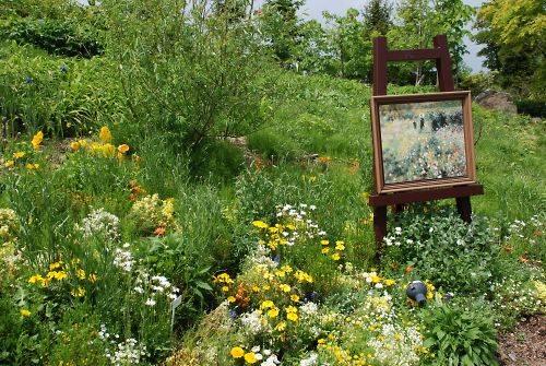 陶板名画と庭園