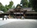大神神社 本殿が無く後方の三輪山をご神体とする 奈良県桜井市三輪